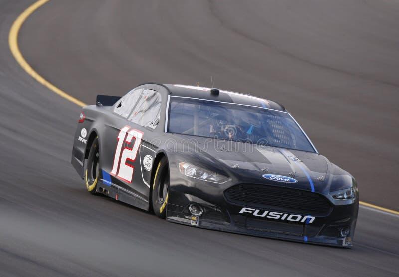 NASCAR 2012: Hollywood Kasyno 400 OCT 18 zdjęcia royalty free