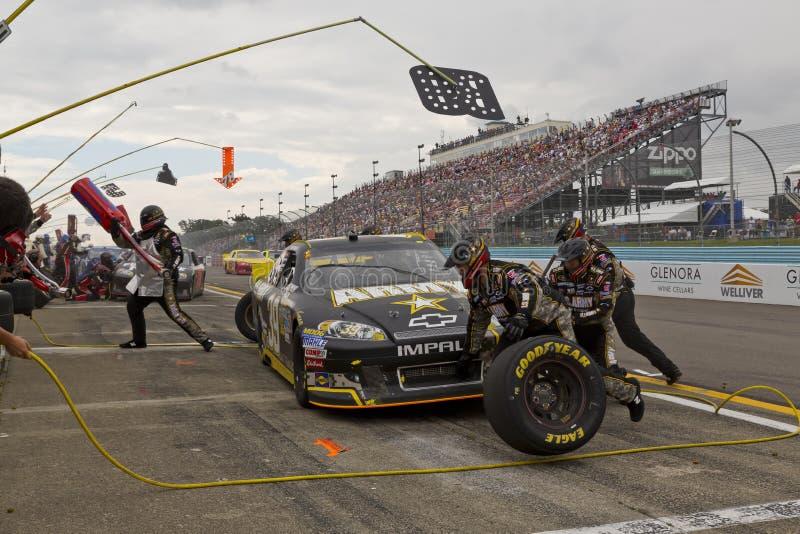 NASCAR 2012: Lagos 355 finger da série do copo de Sprint imagem de stock