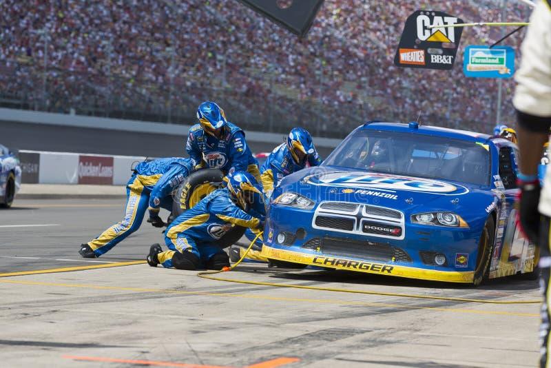 NASCAR 2012: O copo Quicken de Sprint empresta 400 fotografia de stock royalty free