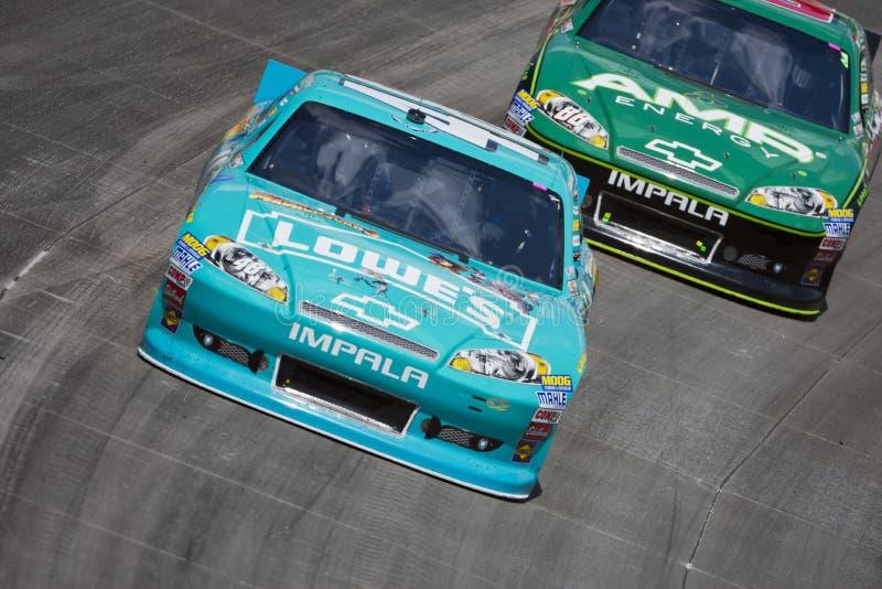 NASCAR 2012: Serie Federal Express 400 della tazza di Sprint fotografie stock