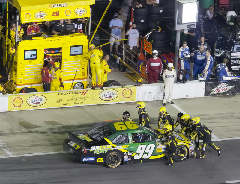 NASCAR 2012: Sprint Cup Series AdvoCare 500 royalty free stock photography