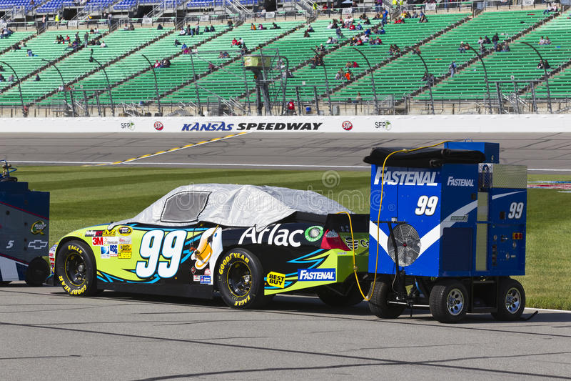 NASCAR 2012: Sprint Cup Series STP 400 APR 22 stock photography