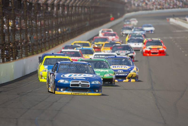 NASCAR 2012: Sprinten Sie Cup-Serie Curtiss Rasierapparat 400 stockbilder