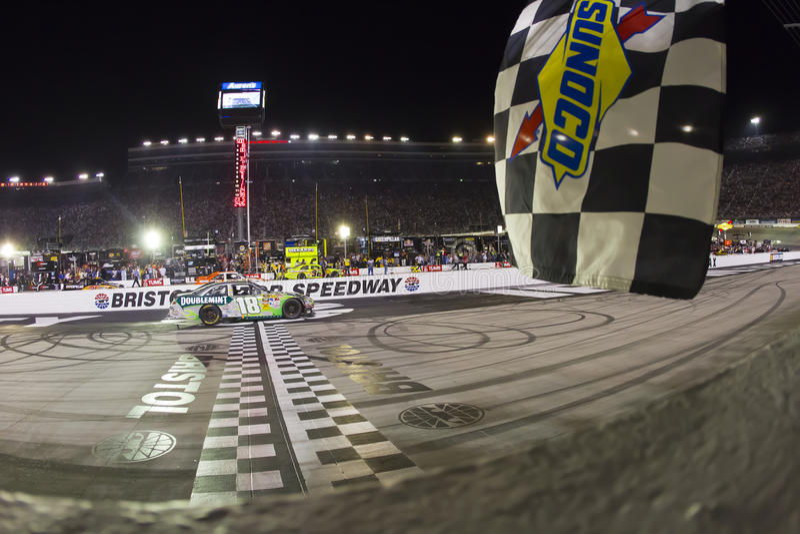 NASCAR: 21. August Irwin bearbeitet Nachtrennen stockfoto