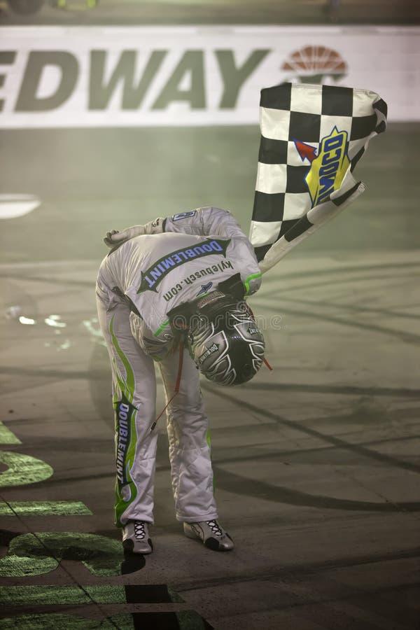NASCAR: 21. August Irwin bearbeitet Nachtrennen lizenzfreies stockbild