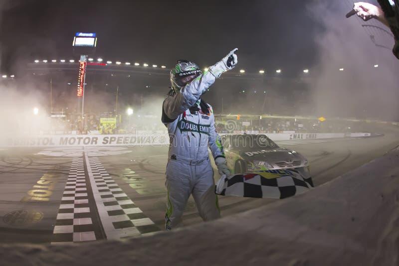 NASCAR: 21 het Ras van de Nacht van de Hulpmiddelen Irwin van augustus stock foto
