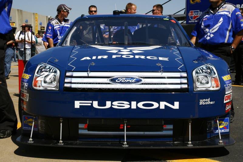 NASCAR - #21 l'Armée de l'Air Ford Fu photo libre de droits