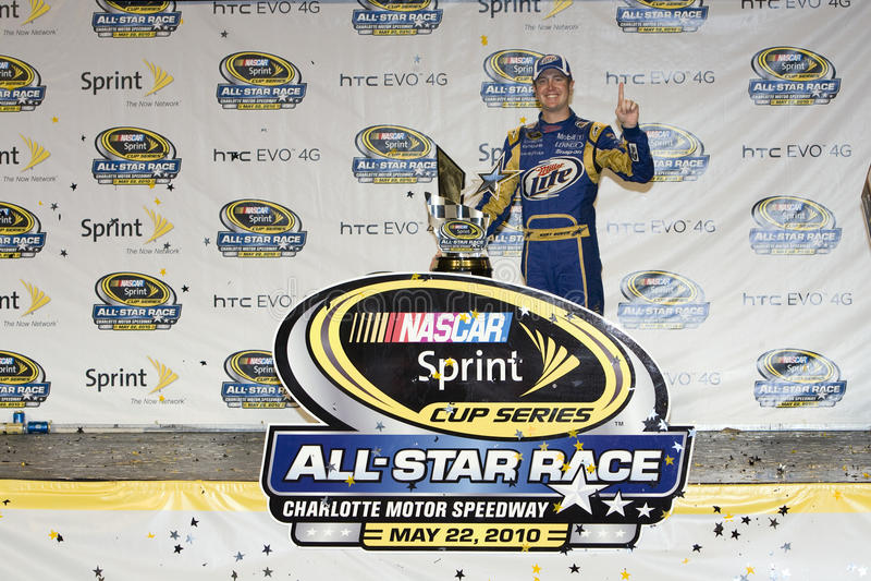 NASCAR: 22 mei het Ras van de alle-Ster van de Kop van de Sprint NASCAR royalty-vrije stock foto's