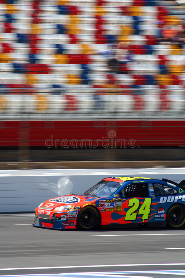 NASCAR - #24 Gordon RW6 imagem de stock royalty free