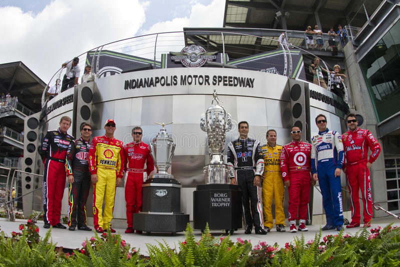 NASCAR: 25 JULI Brickyard 400 stock foto's