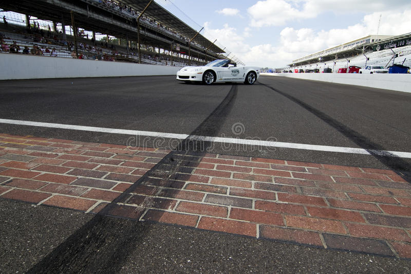 NASCAR: 25 JULI Brickyard 400 royalty-vrije stock afbeelding