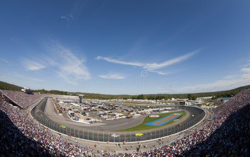 NASCAR: 25 sep Sylvania 300 stock foto's