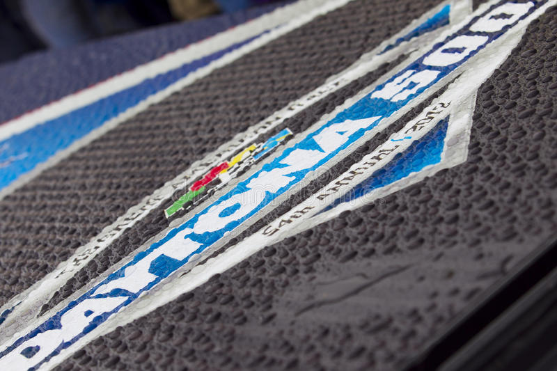 NASCAR : 26 février Daytona 500 photos libres de droits