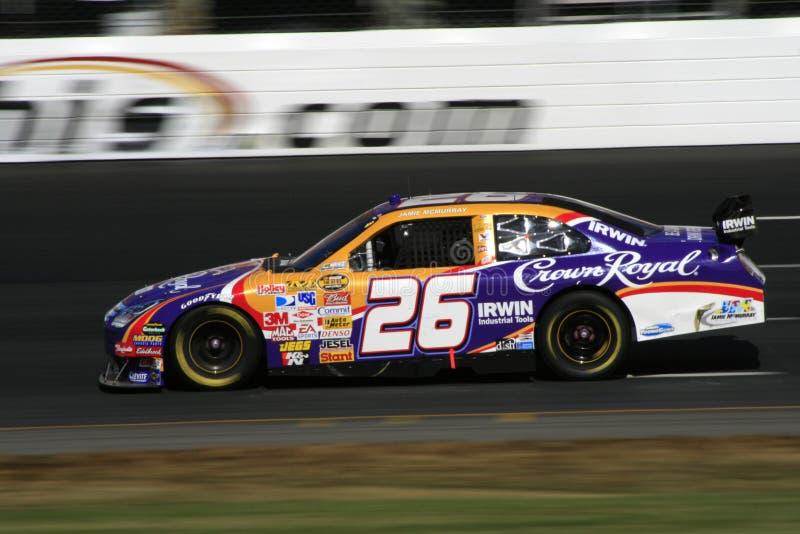 NASCAR - #26 McMurray dans le NH image libre de droits