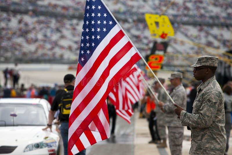 NASCAR : 27 septembre D.C.A. 400 image stock