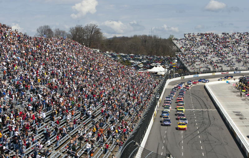 NASCAR: 29 maart Hulp 500 van de Pijn van de Zoetigheid Snelle royalty-vrije stock foto's