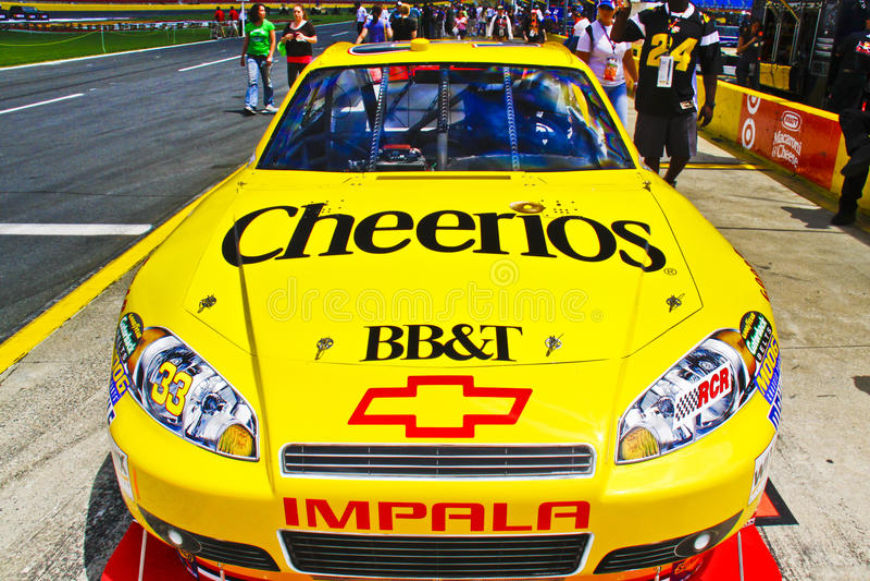 NASCAR - #33 Cheerios Auto lizenzfreies stockfoto