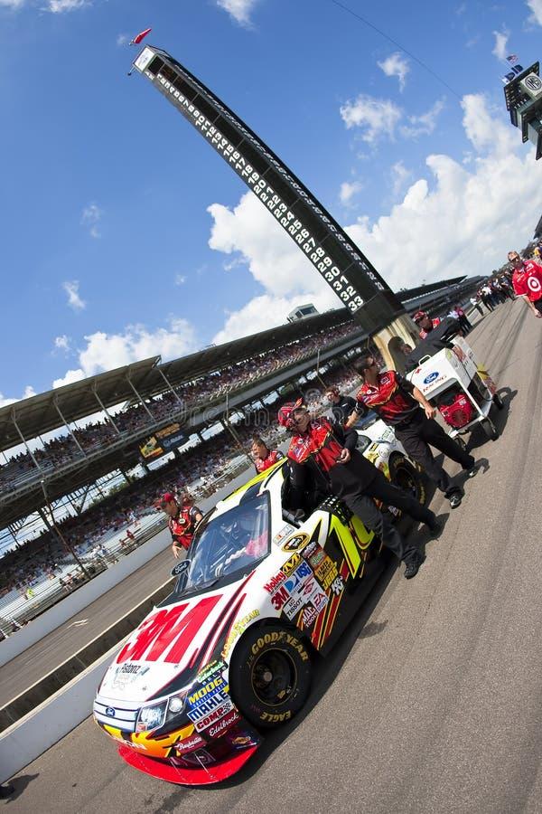 NASCAR: 3M Doorwaadbare plaats Allstate 400 bij Brickyard royalty-vrije stock fotografie