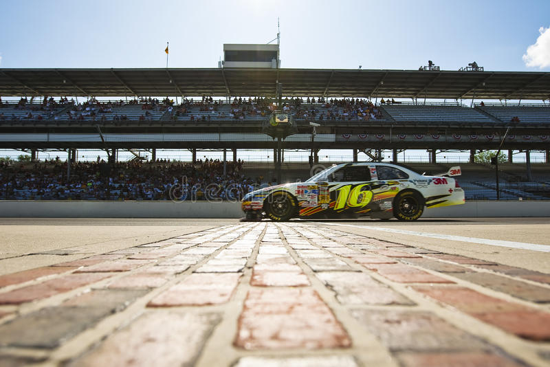NASCAR: 3M Doorwaadbare plaats Allstate 400 bij Brickyard stock afbeeldingen