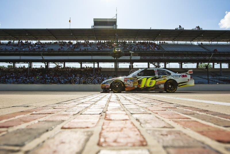 NASCAR: 3M Ford Allstate 400 no Brickyard imagens de stock