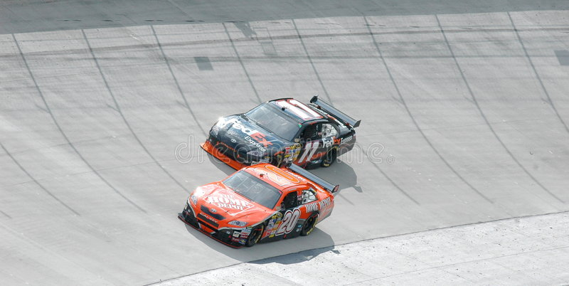 NASCAR immagini stock libere da diritti