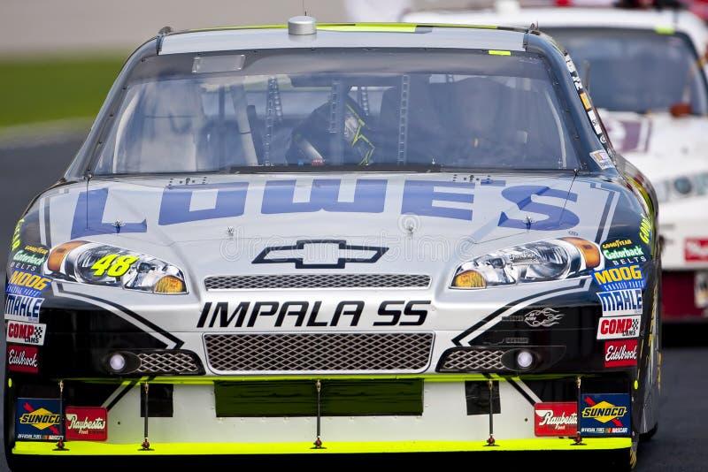 NASCAR: 5. September-Elan-Jungen-Automobil 500 stockbild
