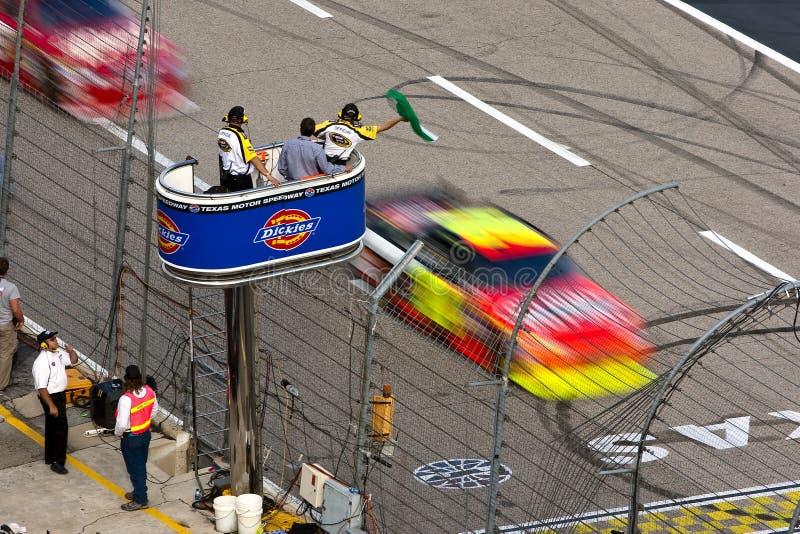 NASCAR: 8. NovemberDickies 500 stockbilder