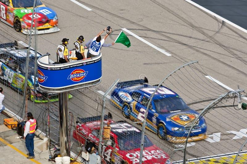 NASCAR: 8. NovemberDickies 500 stockbild