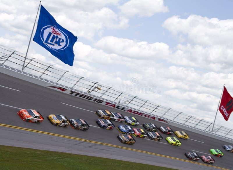 NASCAR: Abril 25 Aaron 499 fotografia de stock royalty free
