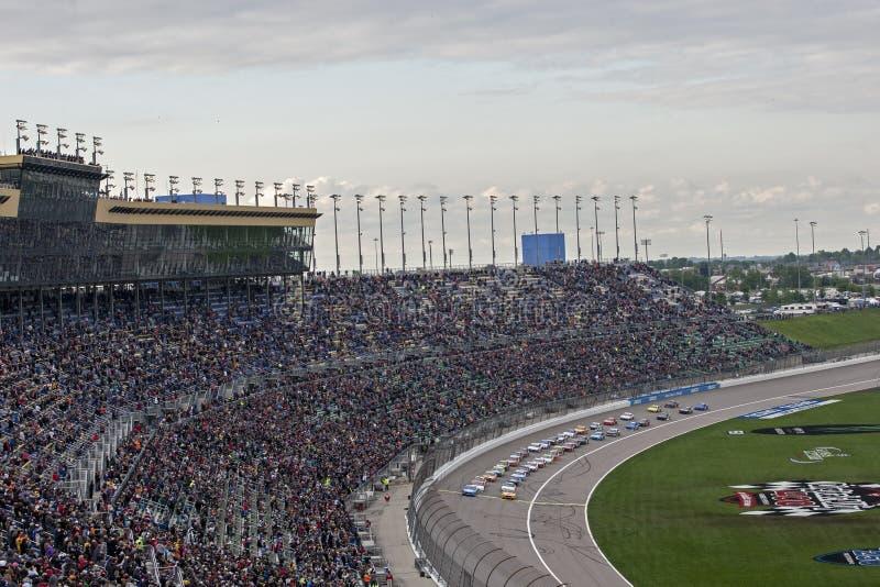 NASCAR: Aliado 400 de Digitaces del 11 de mayo imagen de archivo