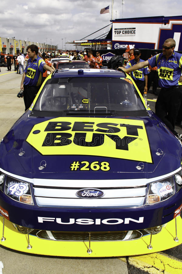 NASCAR - Allmendinger #43 Best Buy All Star Ford