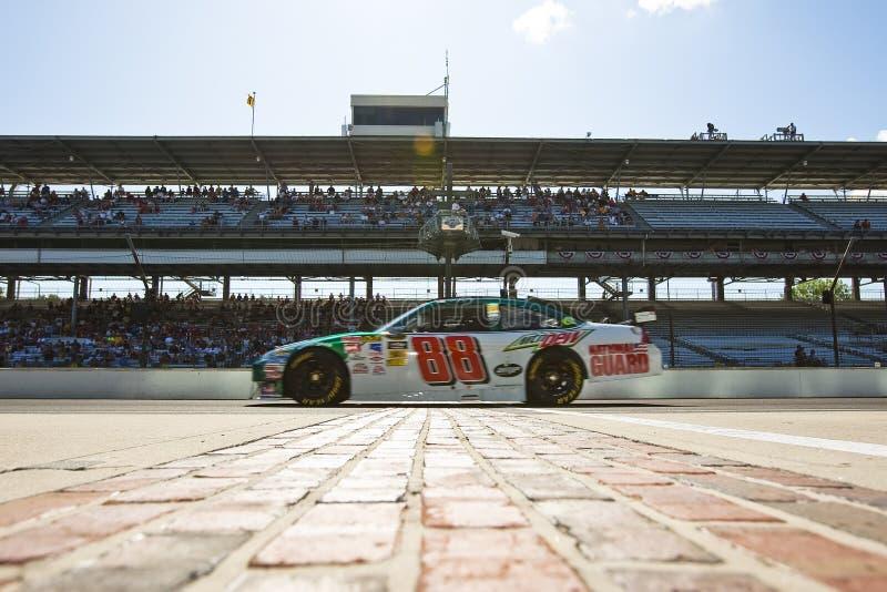NASCAR: Ampère Chevrolet Allstate 400 royalty-vrije stock fotografie
