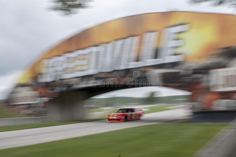 NASCAR : 25 août Johnsonville 180 photo libre de droits