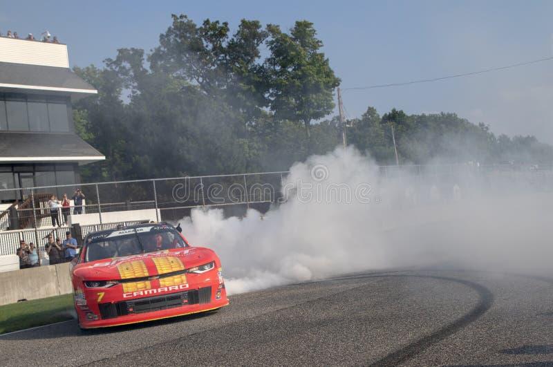NASCAR : 25 août Johnsonville 180 images stock