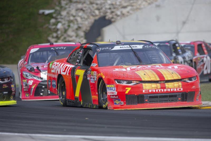 NASCAR : 25 août Johnsonville 180 photographie stock