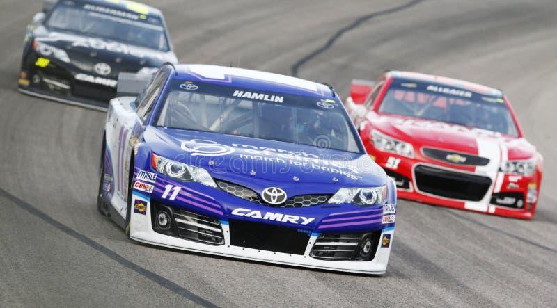 NASCAR:  Am 4. April Duck Commander 500 lizenzfreie stockbilder