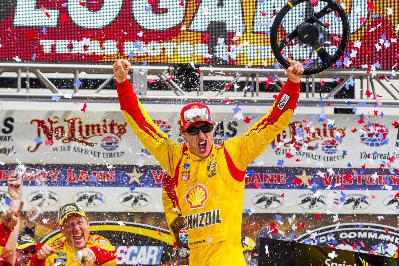 NASCAR: Am 7. April Duck Commander 500 lizenzfreies stockbild