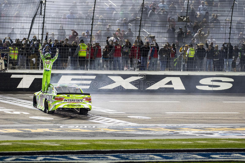 NASCAR: Am 10. April Duck Commander 500 lizenzfreies stockfoto