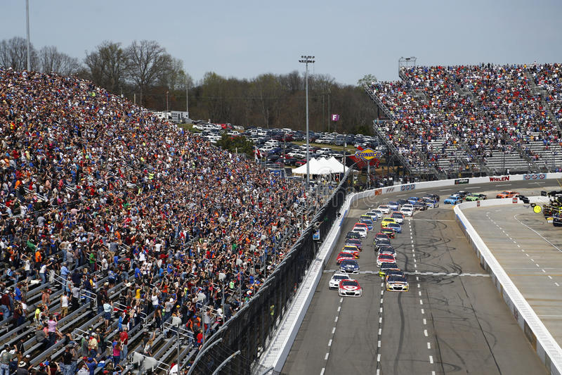 NASCAR: 2 aprile STP 500 immagini stock