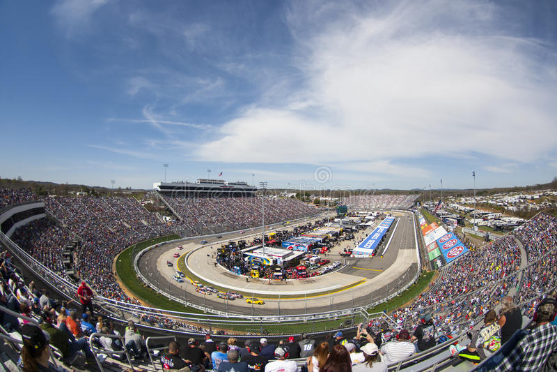 NASCAR: 2 aprile STP 500 immagini stock libere da diritti