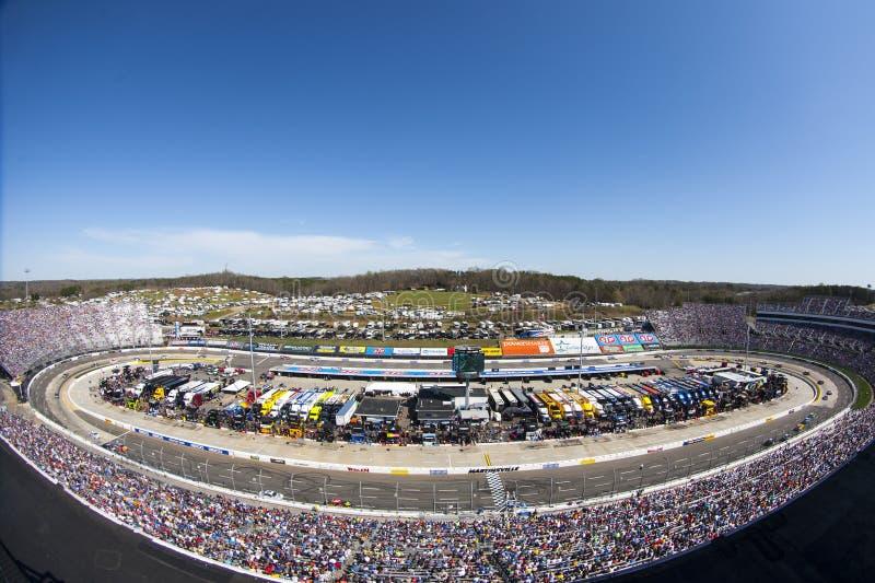 NASCAR: 2 aprile STP 500 immagine stock libera da diritti