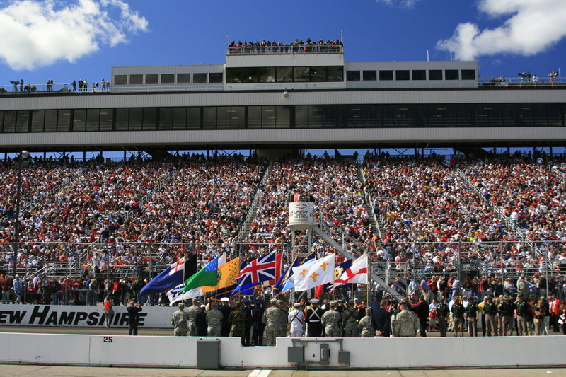 NASCAR and the Armed Services