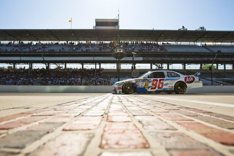 NASCAR: Ask.com Doorwaadbare plaats Allstate 400 royalty-vrije stock foto's