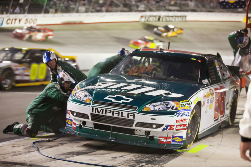 NASCAR: Aug 21 Irwin Tools Night Race royalty free stock images