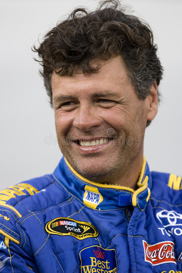 NASCAR: August 21 Sharpie 500. 21 August, 2009: Michael Waltrip during qualifying for the Sharpie 500 at the Bristol Motor Speedway in Bristol, TN stock images
