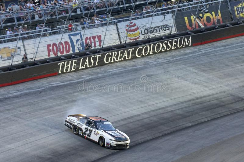 NASCAR: August 16 Food City 300 stock image