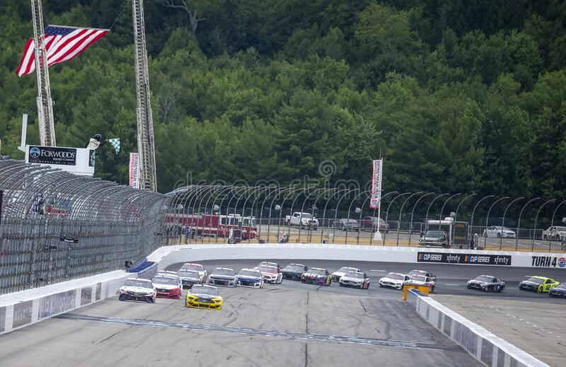 NASCAR: August 02 Foxwoods Resort Casino 301 royalty free stock photography