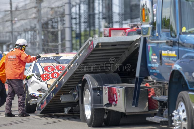 NASCAR: August 02 Zippo 200 royalty free stock images