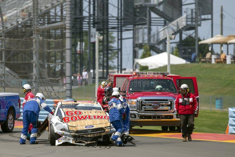 NASCAR: Augusti 02 Zippo 200 arkivbild