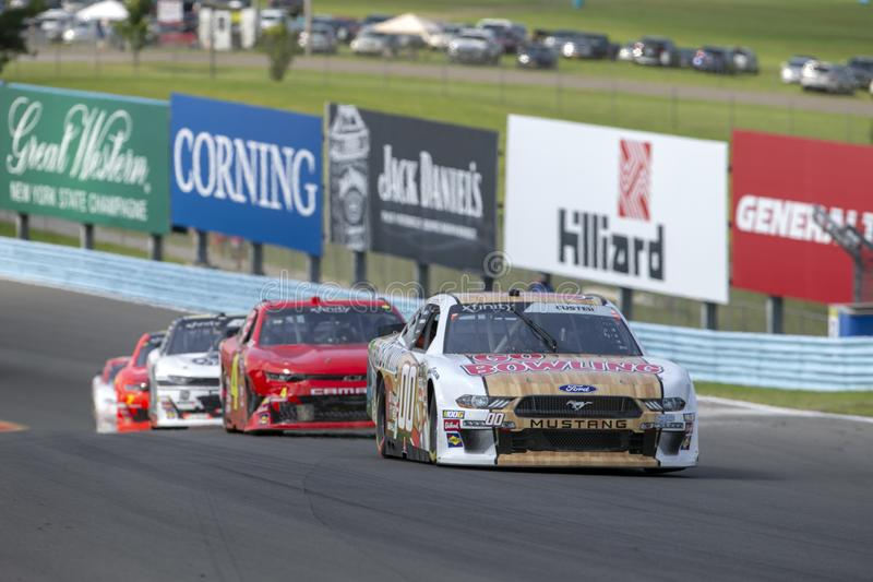NASCAR: Augusti 03 Zippo 200 arkivfoto